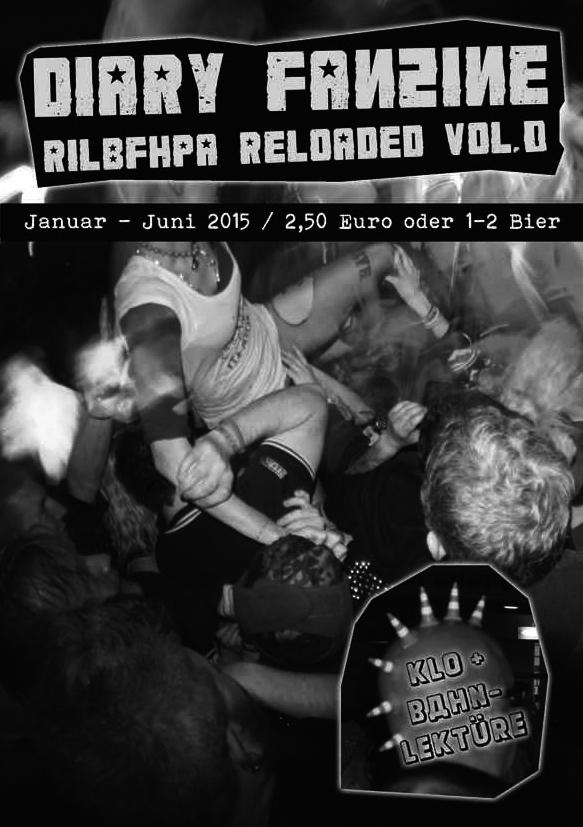 DIARY FANZINE Vol. 0 RILBFHPA RELOADED