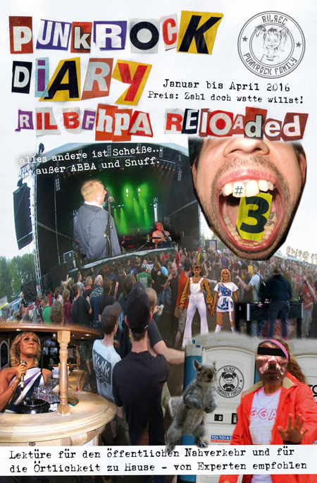 Punkrock Diary 3 - RILBFHPA reloaded